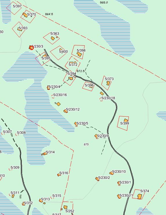 Elgshorn vel hytteområde
